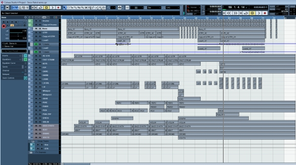 cubase window