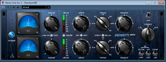 Stereo Bus Compression with Variety of Sound Density-plugin.